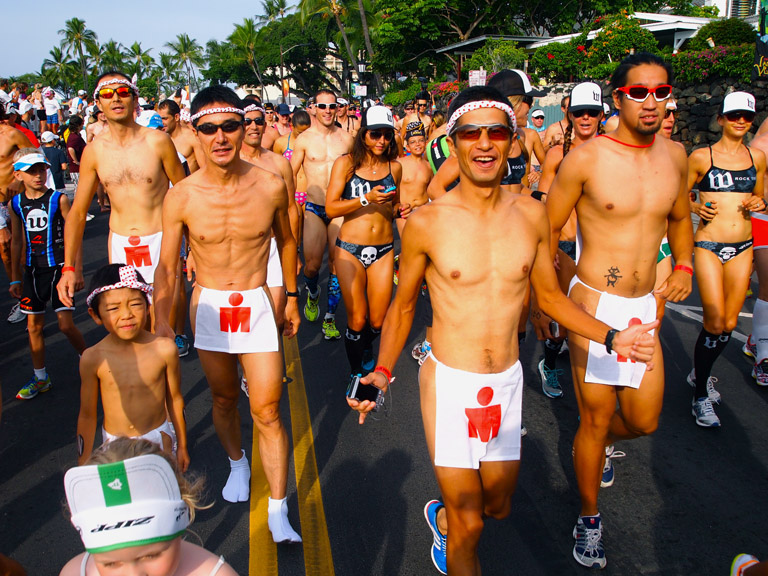 Underpants run in Hawaii